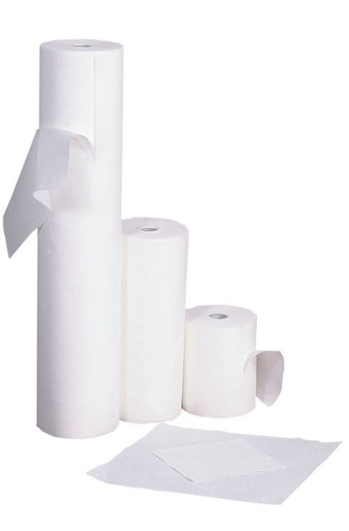 rollo de toalla de celulosa 40x80cm y 40x40cm