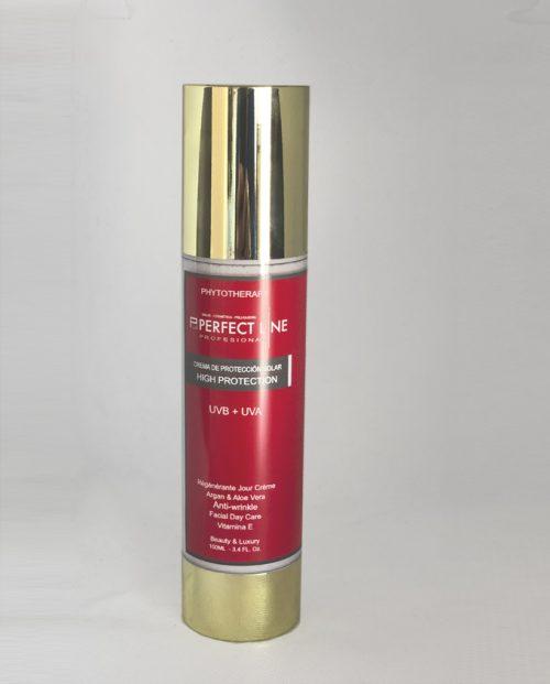 Crema fotoprotectora rejenerante perfect line
