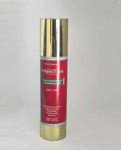 Crema fotoprotectora regenerante